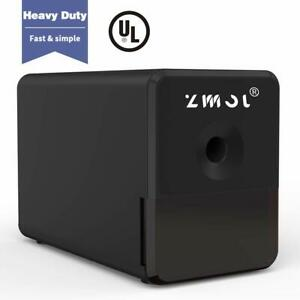 Electric Pencil Sharpener Heavy Duty Helical Blade Auto stop Feature Indrustrial