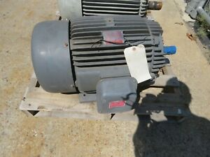 General Electric 30 Hp 230 460v 1750 Rpm 286t Motor 5k286bc205 New