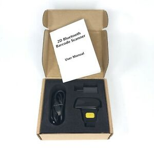 Alacrity Portable Finger Mini 2d Bluetooth Barcode Scanner New Free Shipping