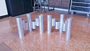 Paul Mayen Habitat Skyscraper 70s Vtg Coffee Table Bases Mid Century Eames Era