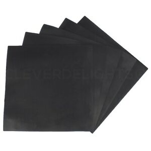 10 Pk Solid Silicone Rubber Sheets 12 X 12 X 06 Square Mat Duro 65a