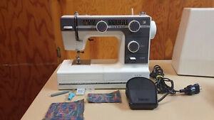 Janome Lion Free Arm Portable Sewing Machine Heavy Duty Denim Upholstery Canvas