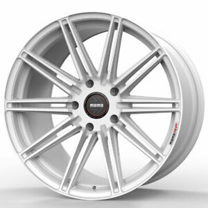 19 Momo Rf 10s White 19x8 5 Forged Concave Wheels Rims Fits Mini Cooper Clubman