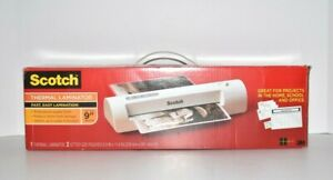 Nib Scotch 3m Thermal Laminator Tl901c With 2 Letter Size Pouches