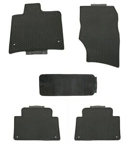 Floor Mats For 2005 2015 Audi Q7 Custom Fit Rubber All Weather Spill Guard Mud