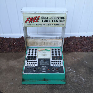Vintage Self Service Vacuum Tube Tester Mercury Electronics local Pickup Only