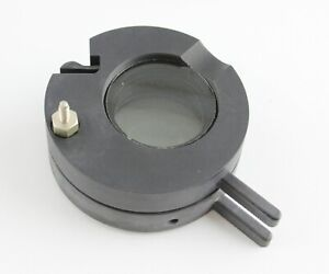 Zeiss Microscope Condenser Swing Out Filter Holder With Polarizer Pol