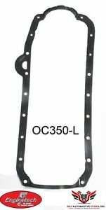 Chevy Chevrolet 305 350 400 Sbc Enginetech Molded Rubber Oil Pan Gasket 75 79