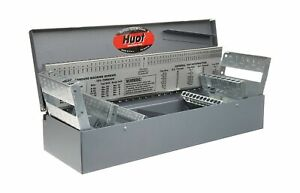 Huot 11700 Combination Jobber Length Drill Bit Index For Sizes 1 16 To 1 2