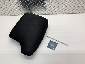 2013 2017 Honda Accord Center Console Armrest Arm Rest Lid Top Black Cloth Oem