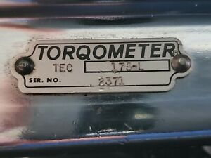 Vintage Snap On Torque Wrench Torqometer Model Te 175 l 1 2 Drive