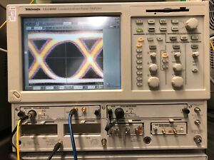 Tektronix Csa8000 80c02 30ghz Module Sampling Scope