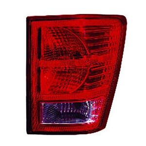 Fits 2007 2010 Jeep Grand Cherokee Tail Light Assembly Passenger Side Nsf