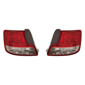 Fits 2012 2013 Scion Tc Tail Light Assembly Pair Driver And Passenger Side