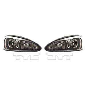 Fits 2004 2008 Pontiac Grand Prix Headlight Pair Side nsf