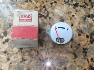 1957 57 Ford Fairlane Dash Temperature Indicator Gauge B7a 10883 A Nos Oem Boxed