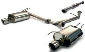 Tanabe Tant70093 Medallion Touring Dual Muffler Catback Exhaust For Tsx