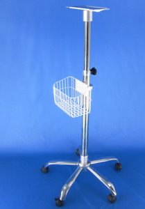 Contec Rolling Monitor Stand Bracket Cart For Vital Signs Icu Patient Monitor us