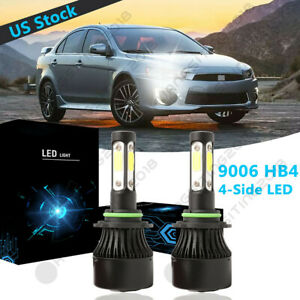 4side 9006 Hb4 Led Headlight Light Bulb Low Beam For Mitsubishi Lancer 2005 2017