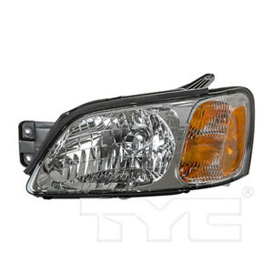 Fits 2000 2004 Subaru Legacy Headlight Driver Side