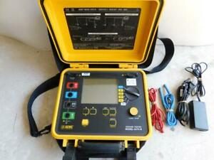 Aemc 6470 b Multi Function Ground Resistance Tester Meter