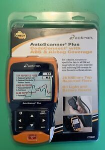 Actron Cp9680 Autoscanner Obd Ii Scan Tool Abs Airbag