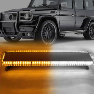 26 5 Amber 54 Led Traffic Advisor Emergency Warn Flash Strobe Light Universal