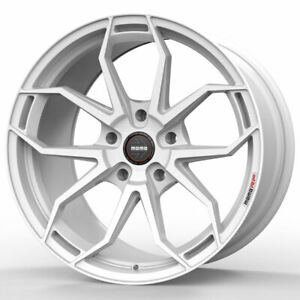19 Momo Rf 5c White 19x8 5 Forged Concave Wheels Rims Fits Mini Cooper Clubman