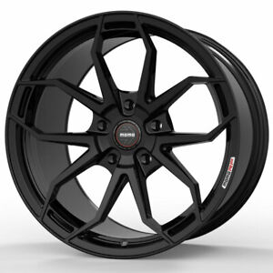 20 Momo Rf 5c Gloss Black 20x9 20x10 5 Wheels Rims Fits Lamborghini Gallardo
