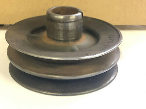 1935 1936 1937 1938 Ford V 8 Truck N O S Dual Sheave Crankshaft Pulley 51 6312