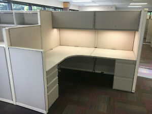 Used Steelcase Office Cubicles Worksations 6x6 5 6x9 6x11