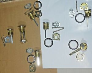 7 Mortise Cylinder Ic 26d 1 1 4 Solid Brass Parts Nos
