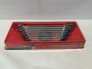 Snap On Soexr707 7 Piece Flank Drive Plus Ratcheting Combination Wrench Set