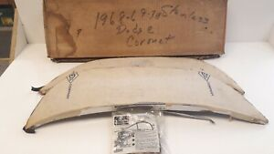 1968 1969 70 Dodge Coronet Nos Foxcraft Rear Fender Stainless Skirts With Flare