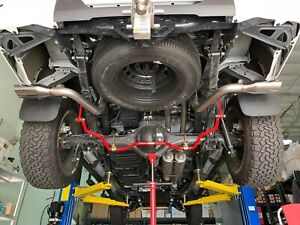 1320 Performance Tundra Dual Exhaust Kit 2x Muffler Bolt On System Trd Style Ss