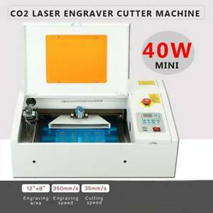 Upgraded 40w Laser Engraver Cutting Machine For Non metal Materials Glass 12 8