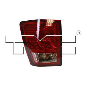 Fits 2007 2010 Jeep Grand Cherokee Tail Light Driver Side Nsf Certified