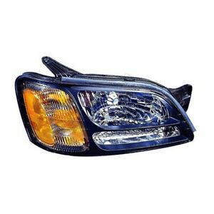 Su2503105 Fits 2000 2004 Subaru Legacy Passenger Side Headlight Capa