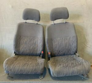 1998 1999 2000 Nissan Frontier Pickup Front Bucket Cloth Seat Left Right Seats