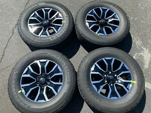 Four 2020 Toyota Tacoma Factory 17 Wheels Tires Oem Rims 4runner Firestone Le2