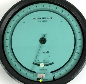 Johnson Controls Wika Green Gauge Tool Germany 11 Steampunk Industrial Decor