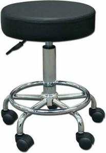 Adjustable Medical Doctor Office Furniture Lab Dental Exam Stool Chair Black 14