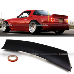 Fits Mx 5 Mk1 90 97 Mazda Miata Rocket Style Highkick Rear Trunk Wing Spoiler
