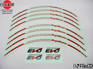 Japan Material 16 Evo Regamaster High Quality Replacement Decal Sticker r036