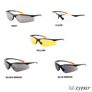 Safety Glasses Protective Goggles Work Sports Sunglasses Clear Grey Yellow Lot