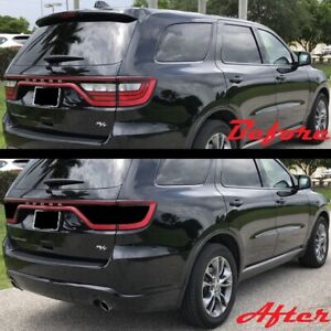 2014 2020 Dodge Durango Tail Light Blackout Kit Precut Smoke Vinyl Srt