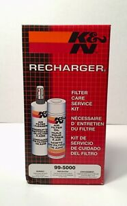 New K N Recharger Air Filter Care Cleaning Service Kit 99 5000