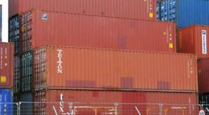 Used 40 High Cube Steel Storage Container Shipping Cargo Conex Seabox Columbus