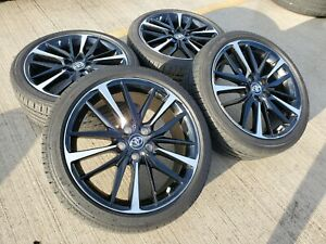19 Toyota Camry Xse 2019 2020 Oem Black Wheels Rims Tires Avalon 75222 2018 New