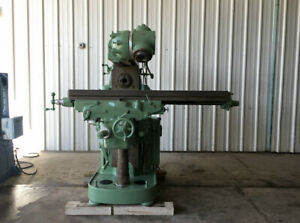 Cincinnati No 3 Milling Machine Table 15 X 63 Spindle Cat 50